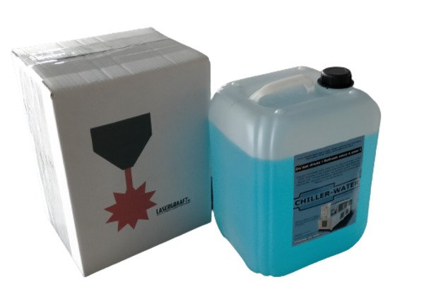 chiller water coolant for laser machines – jerrycan 10 liters spare parts chiller water