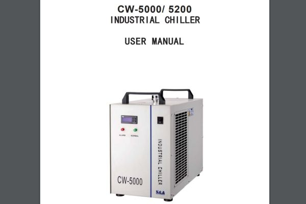 CW-5000/5200 waterchiller technical manual download component manuals chillerwater